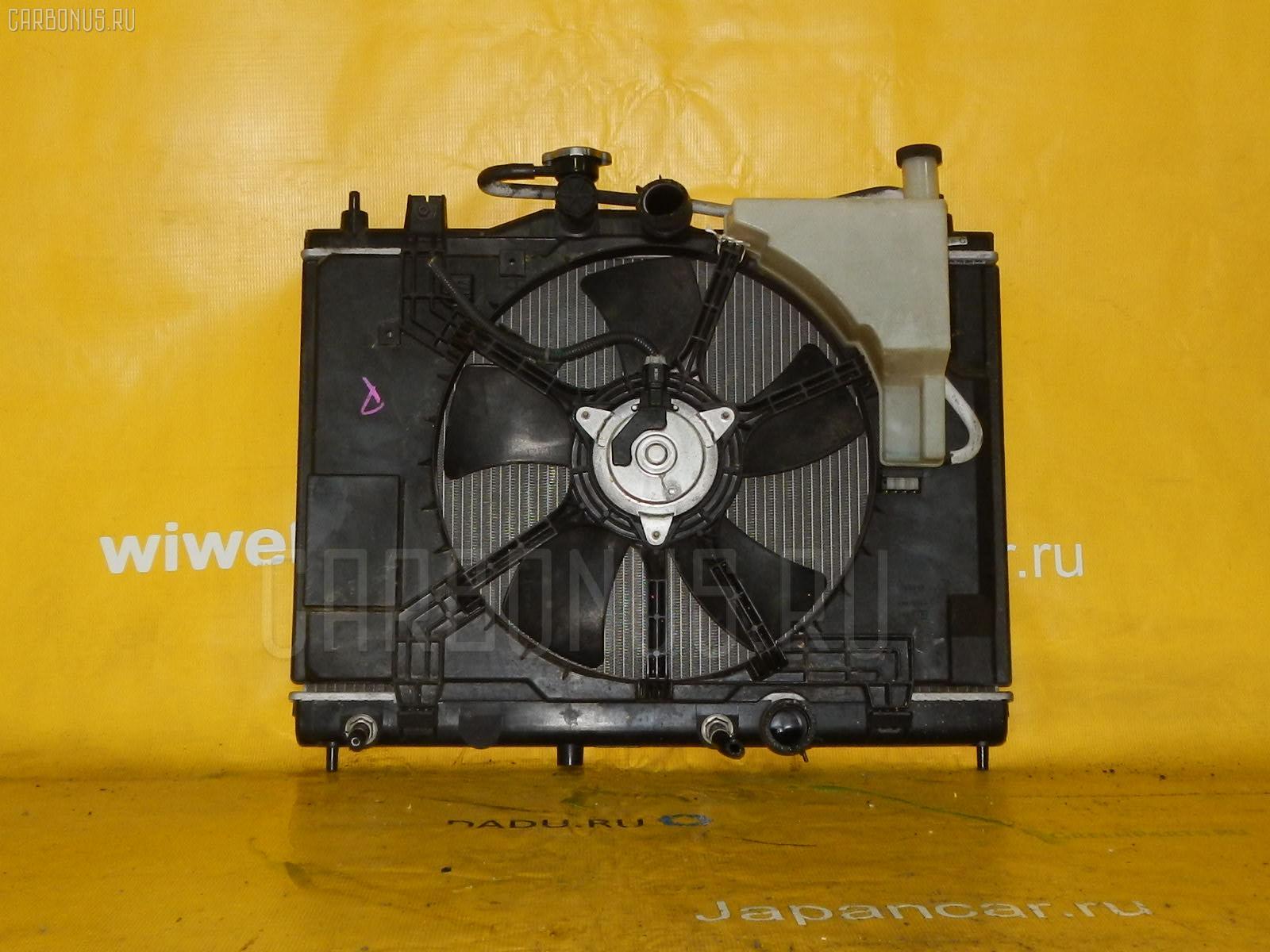 Радиатор ДВС NISSAN TIIDA C11 HR15DE. Фото 6