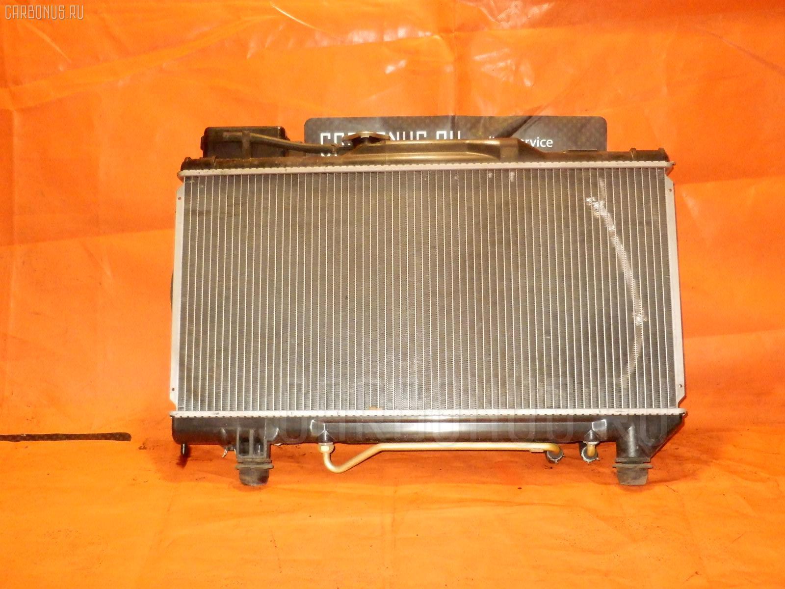Радиатор ДВС TOYOTA CORONA ST191 3S-FE. Фото 11
