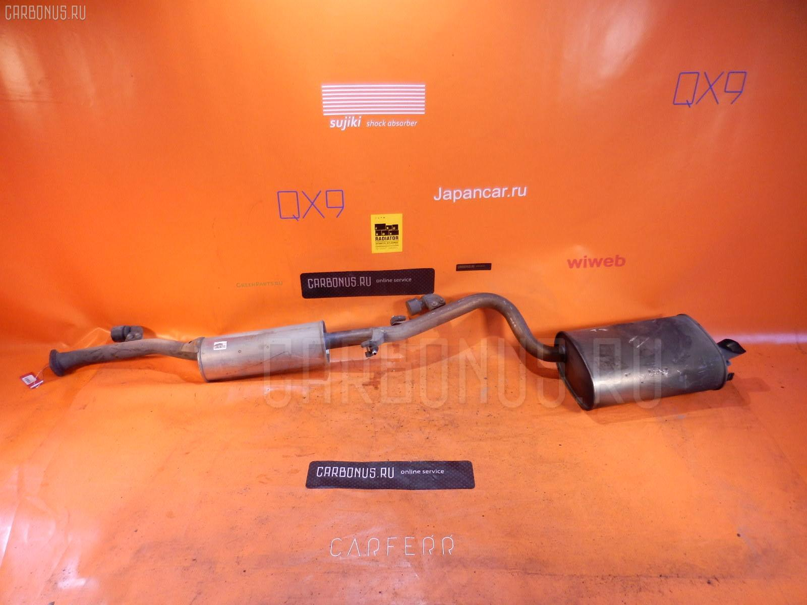 Глушитель TOYOTA MARK II GX110 1G-FE. Фото 2
