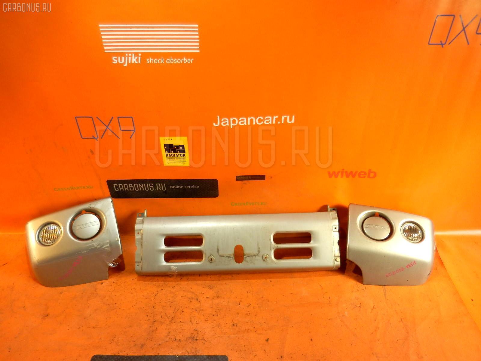 Бампер MITSUBISHI PAJERO MINI H53A Фото 1