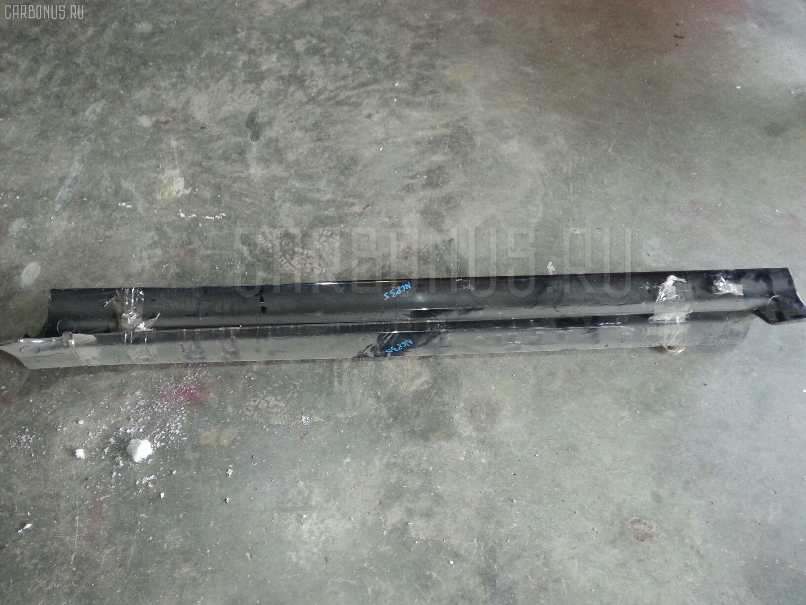 Порог кузова пластиковый ( обвес ) TOYOTA BB NCP35 Фото 1