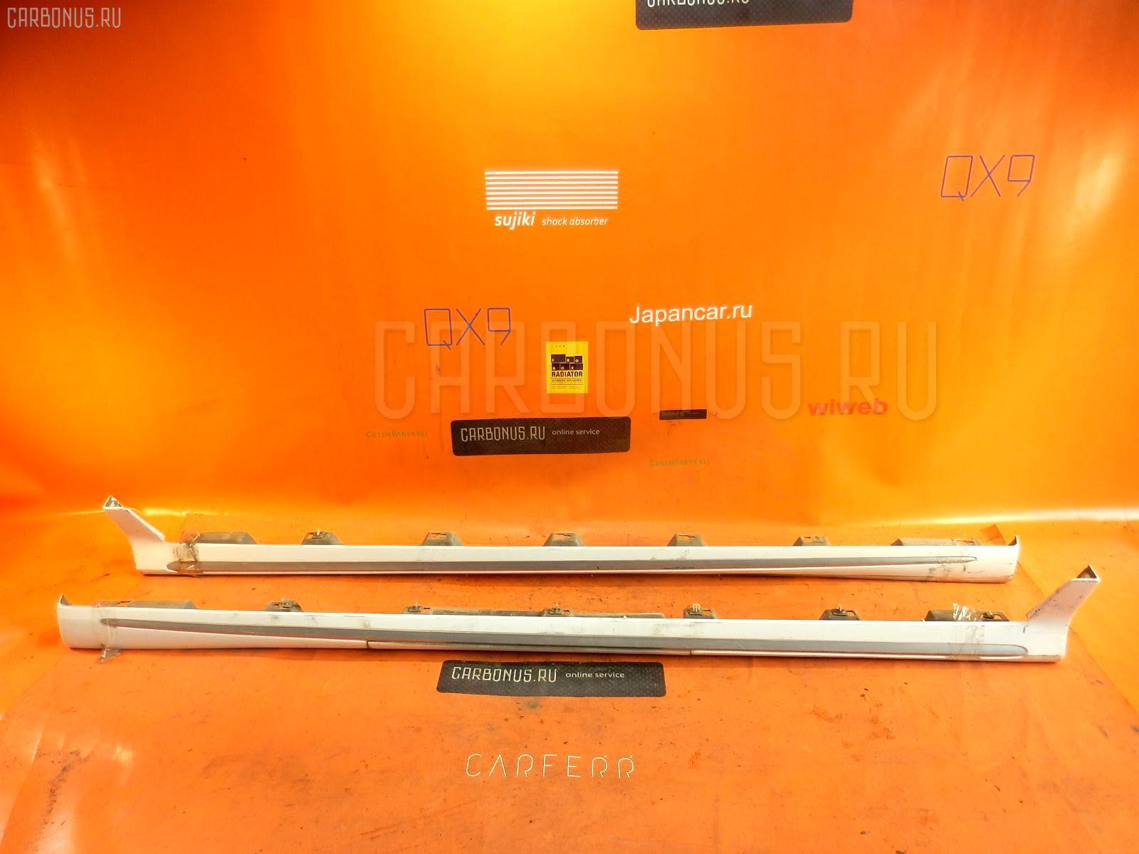 Порог кузова пластиковый ( обвес ) MAZDA MPV LW3W Фото 3