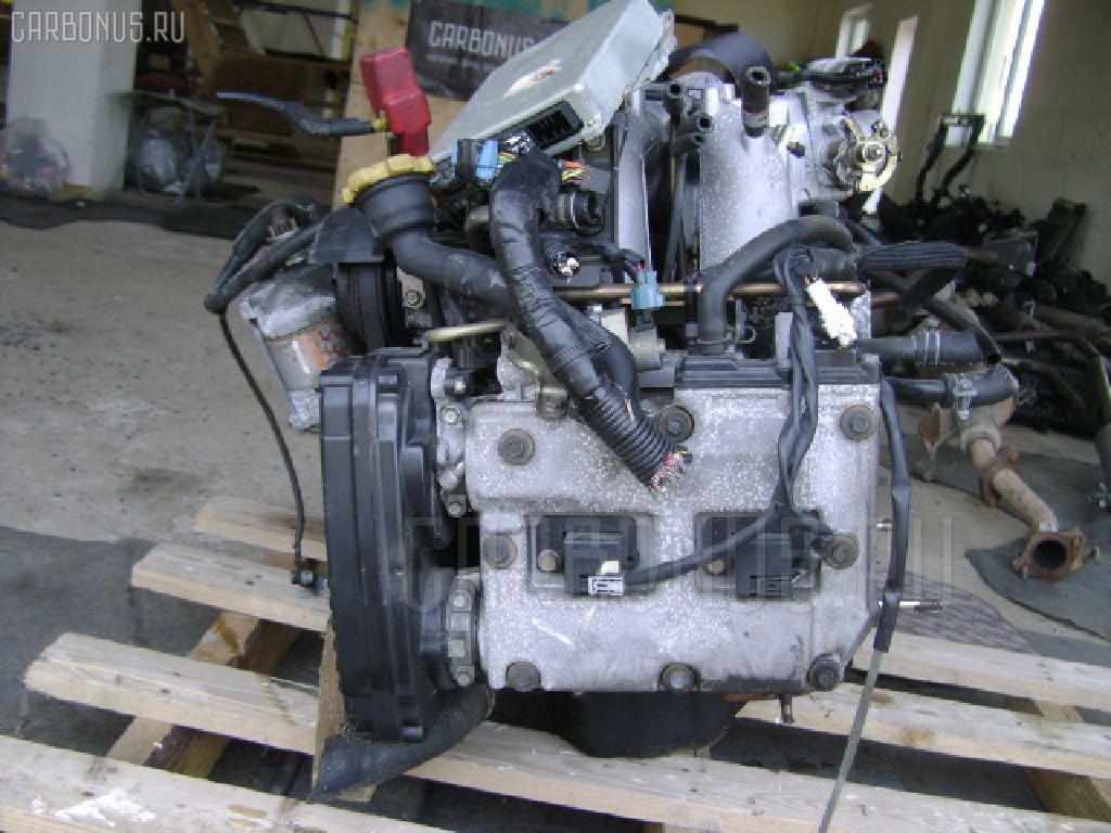 Двигатель SUBARU LEGACY BE5 EJ204 Фото 4