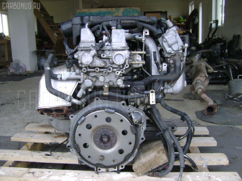 Двигатель MITSUBISHI PAJERO IO H66W 4G93 Фото 3