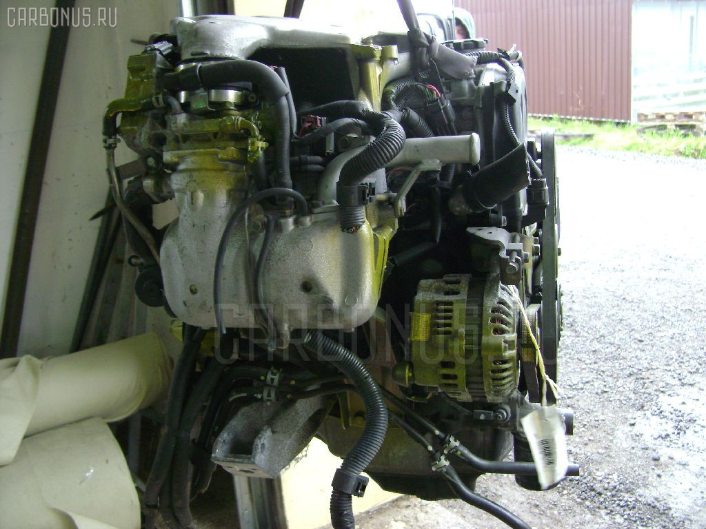 Двигатель Mitsubishi Pajero io H76W 4G93 Фото 1