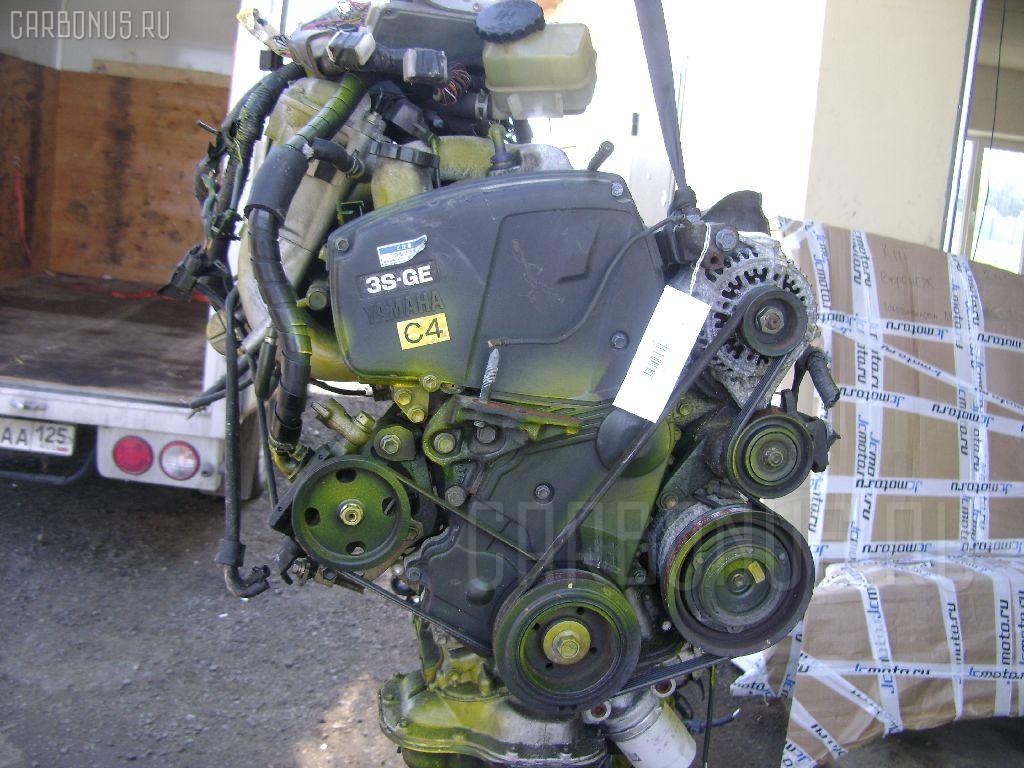 Двигатель TOYOTA CALDINA ST195 3S-GE Фото 1