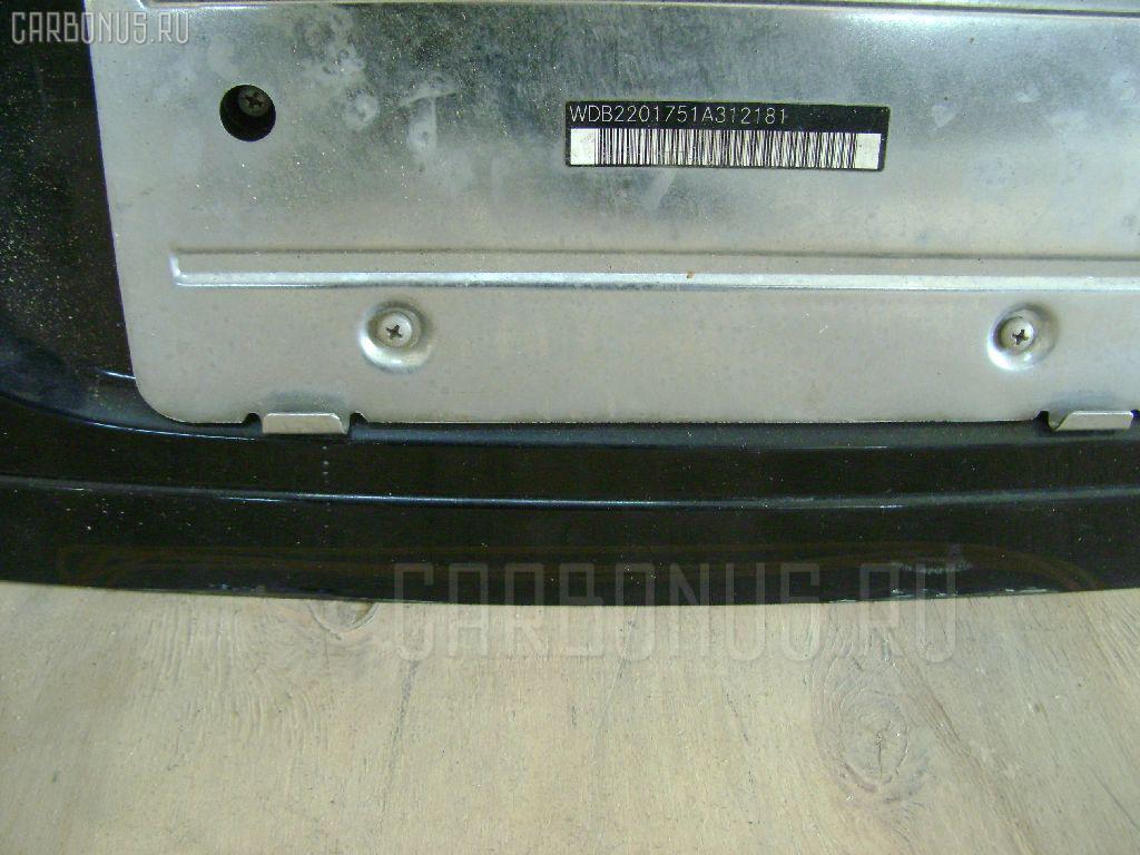 Крышка багажника MERCEDES-BENZ E-CLASS W220175 Фото 3