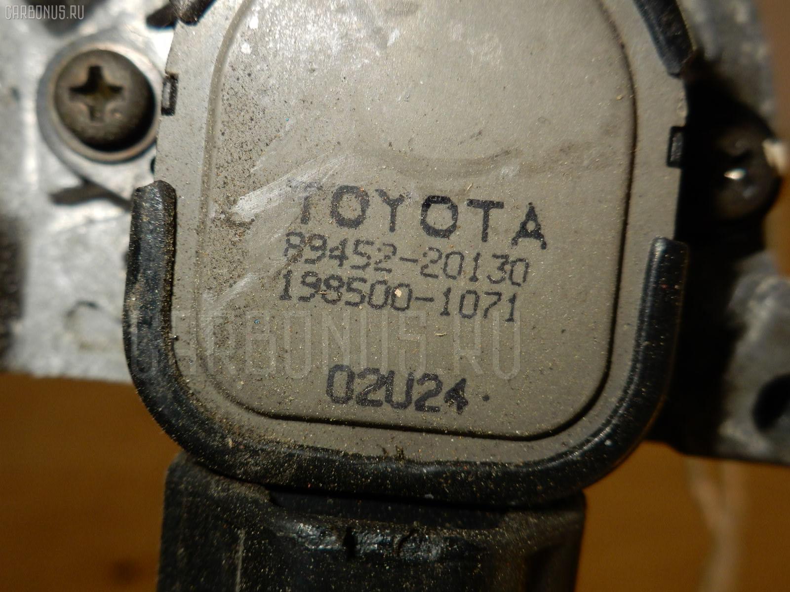 Дроссельная заслонка TOYOTA CHASER JZX100 1JZ-GE. Фото 11