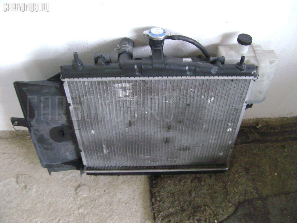 Радиатор ДВС NISSAN MARCH K12 CR10DE. Фото 1