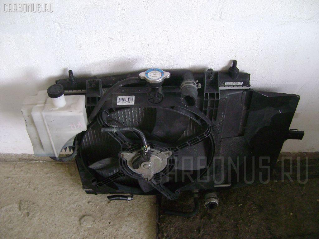 Радиатор ДВС NISSAN MARCH K12 CR10DE. Фото 2