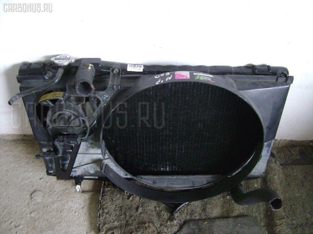Радиатор ДВС TOYOTA CHASER GX81 1G-FE Фото 2