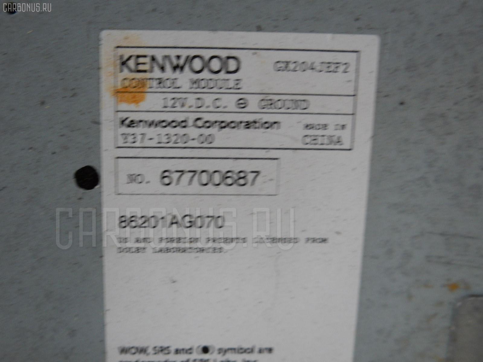 Блок управления климатконтроля SUBARU LEGACY BL5 EJ20 Фото 3