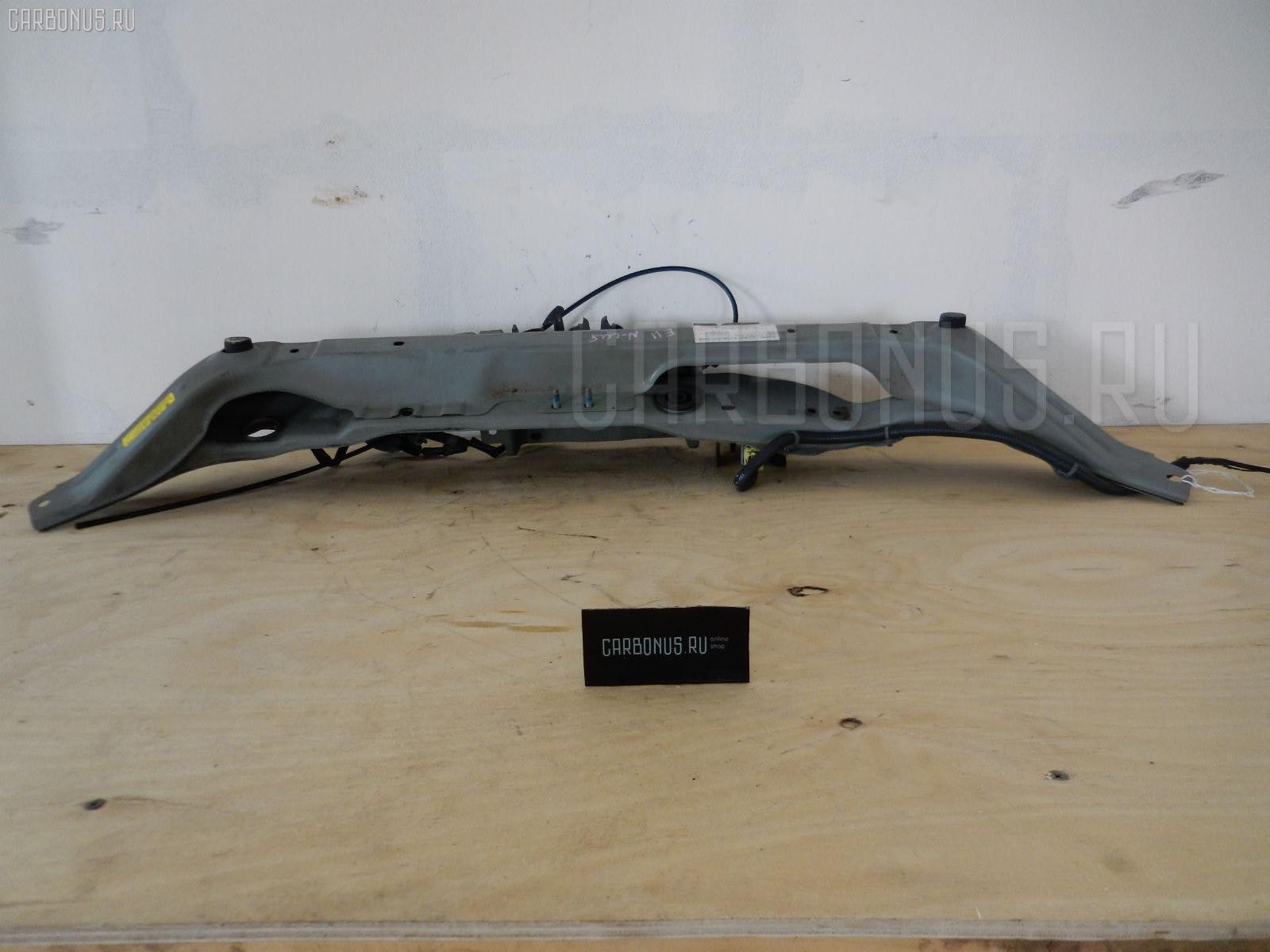 Планка телевизора NISSAN NOTE E11 HR15DE. Фото 5
