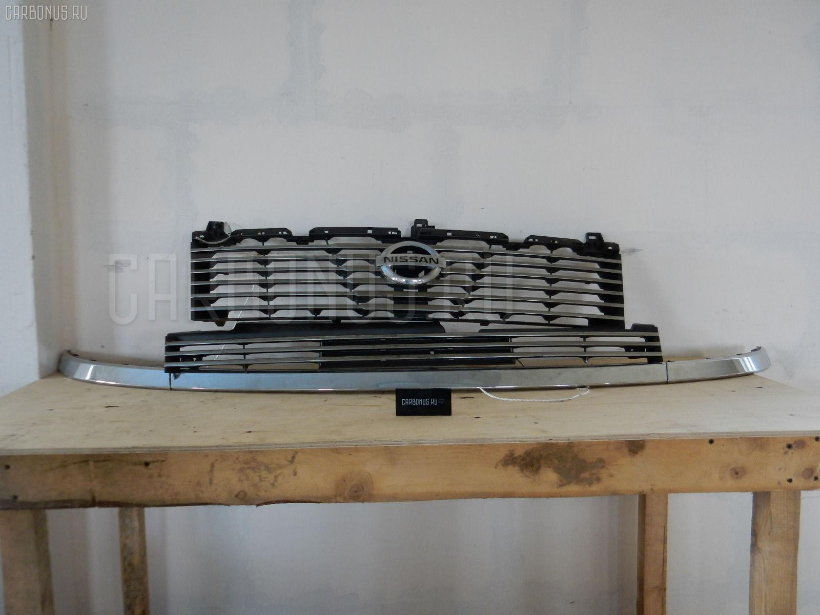 Решетка радиатора NISSAN ELGRAND NE51. Фото 4
