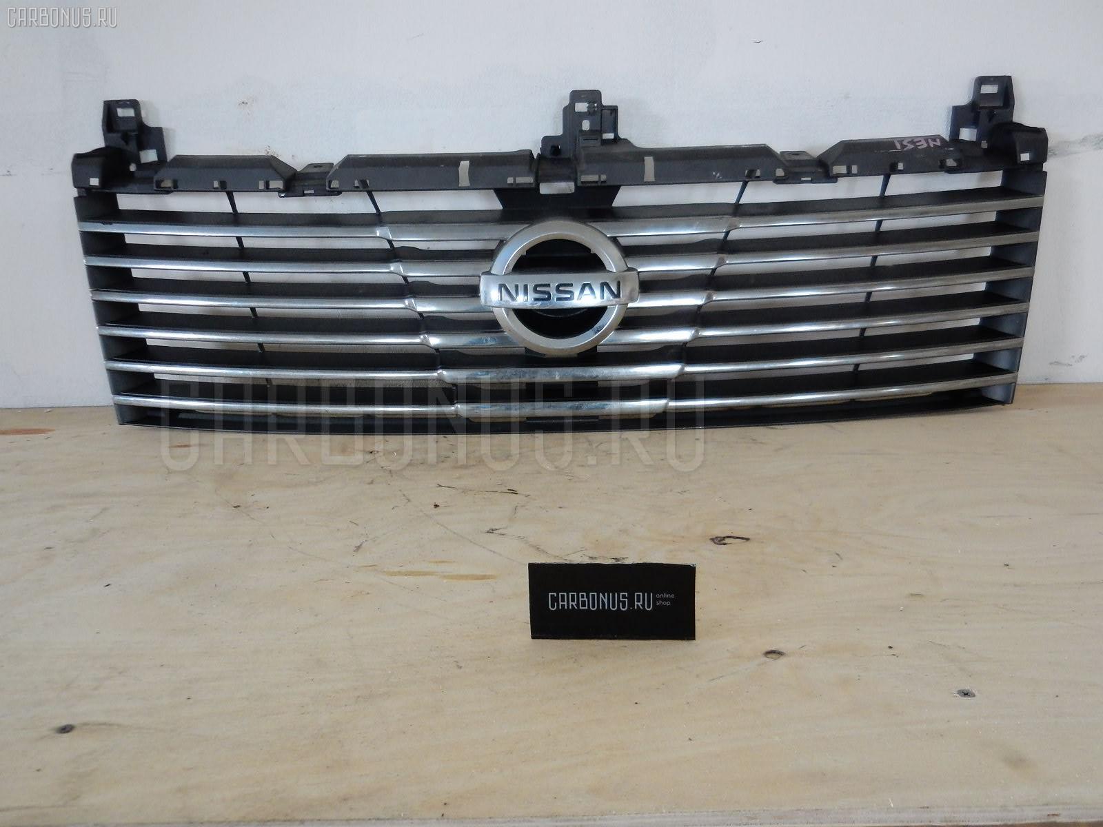 Решетка радиатора NISSAN ELGRAND NE51. Фото 5