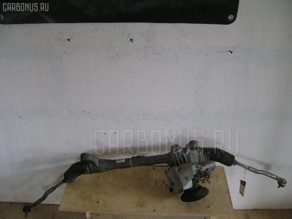 Рулевая рейка HONDA FIT GE6 L13A. Фото 9
