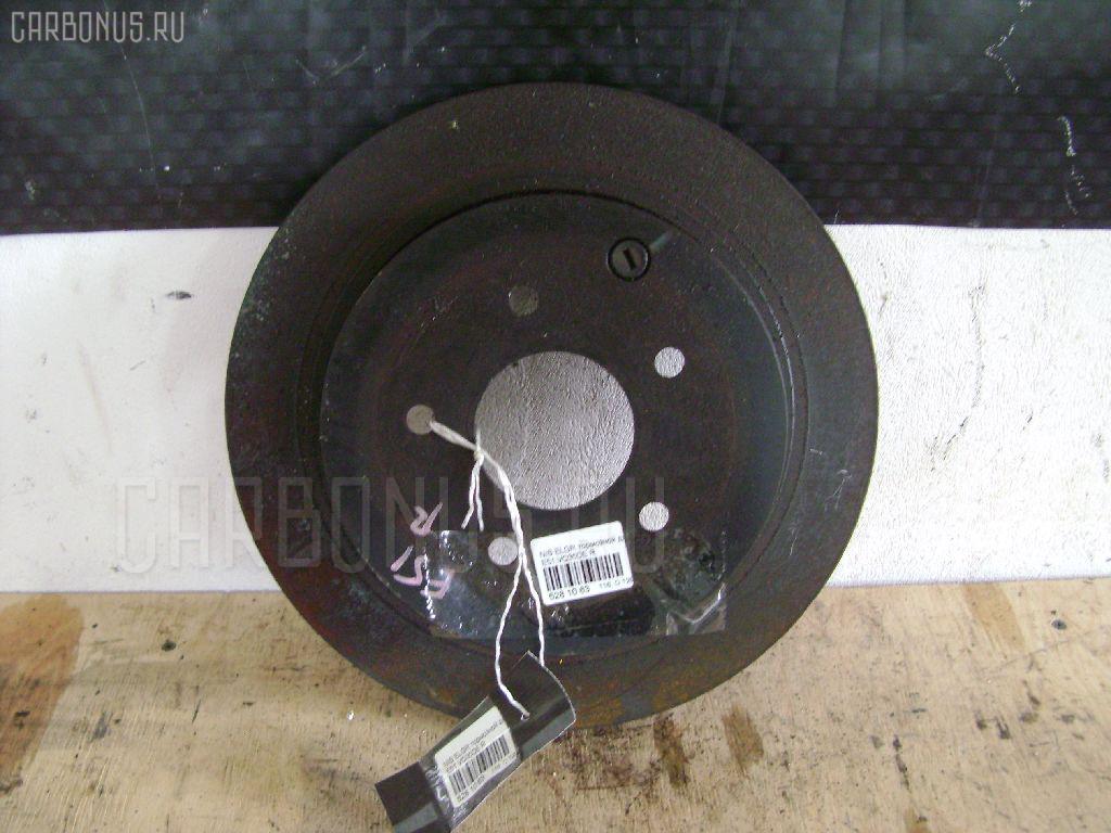 Тормозной диск Nissan Elgrand E51 VQ35DE Фото 1