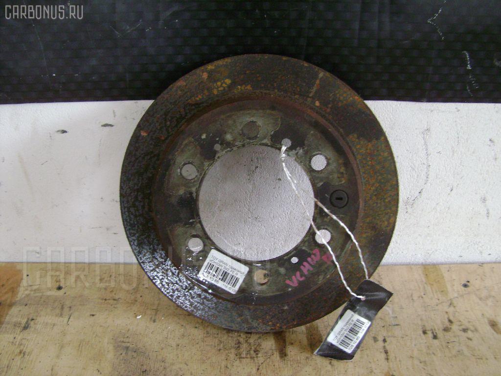 Тормозной диск TOYOTA GRAND HIACE VCH10W 5VZ-FE. Фото 7