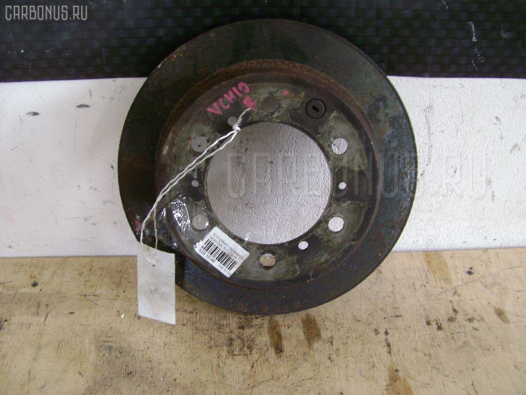 Тормозной диск TOYOTA GRAND HIACE VCH10W 5VZ-FE. Фото 9