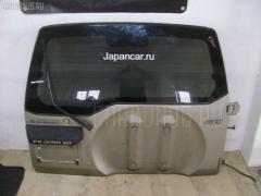 Дверь задняя Mitsubishi Pajero io H66W Фото 1