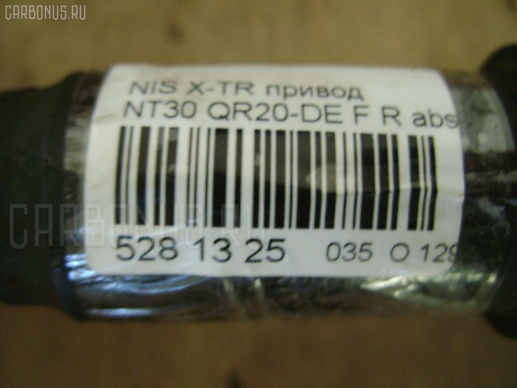 Привод NISSAN X-TRAIL NT30 QR20-DE Фото 3