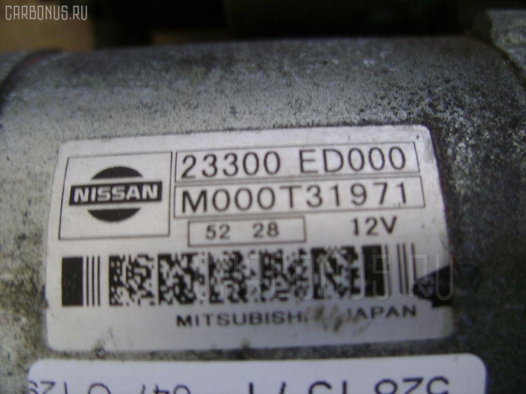 Стартер NISSAN NOTE E11 HR15DE Фото 3