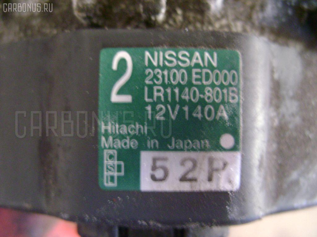 Генератор NISSAN NOTE E11 HR15DE Фото 3