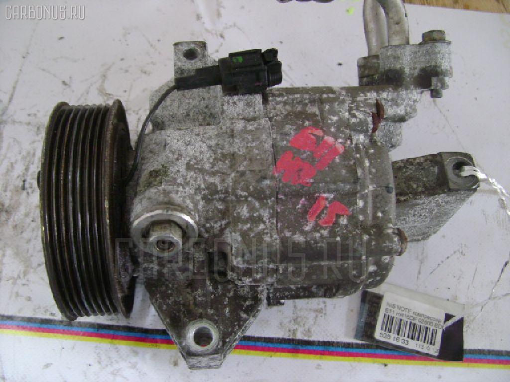 Компрессор кондиционера NISSAN NOTE E11 HR15DE Фото 1