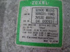 Компрессор кондиционера NISSAN WINGROAD WRY11 QR20DE Фото 4