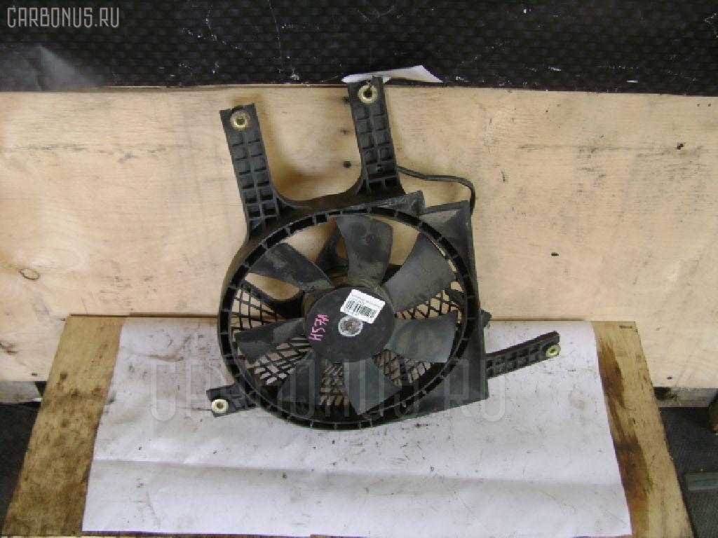 Вентилятор радиатора кондиционера MITSUBISHI PAJERO JUNIOR H57A 4A31. Фото 3