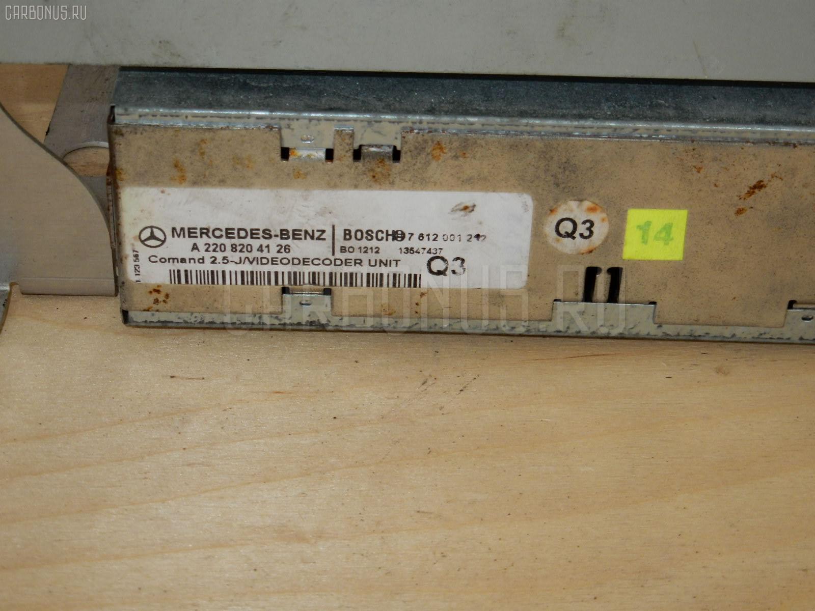 Блок упр-я MERCEDES-BENZ S-CLASS W220.175 113.960 Фото 1