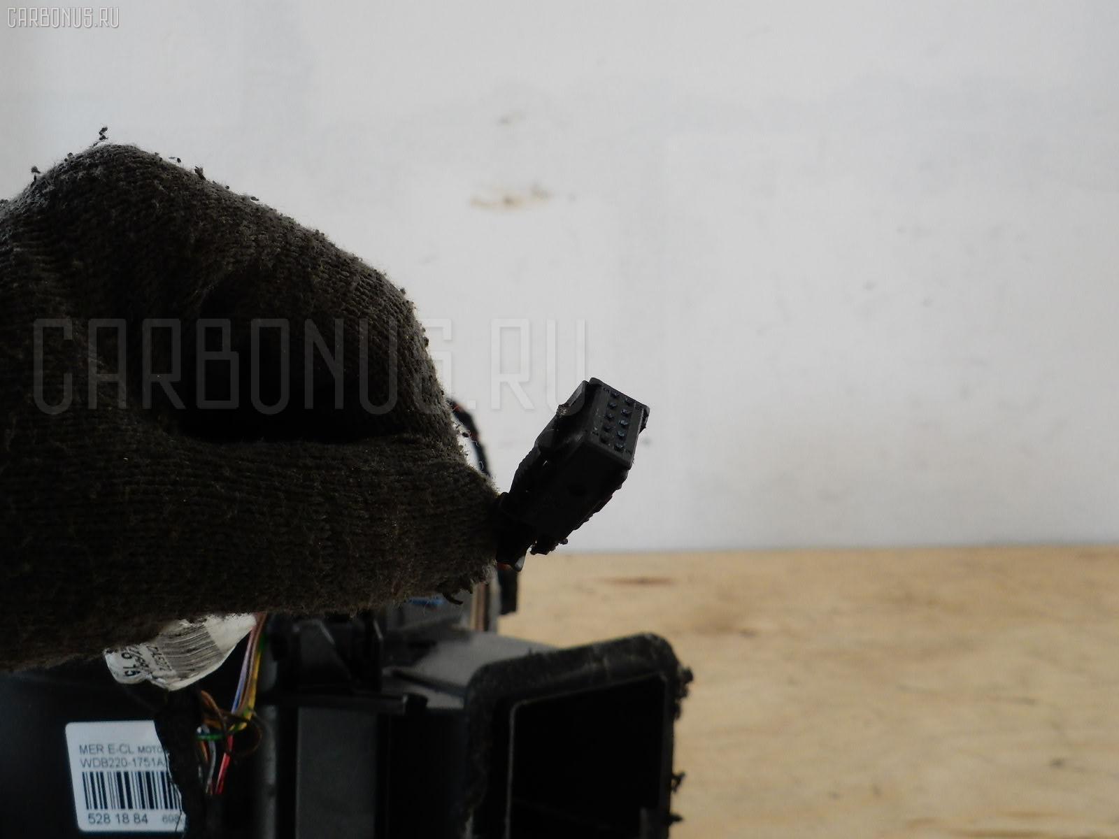 Мотор печки MERCEDES-BENZ E-CLASS W220175 Фото 5