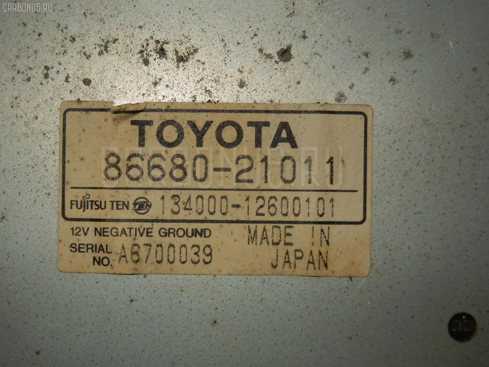 Автомагнитофон TOYOTA CALDINA ST215 Фото 2