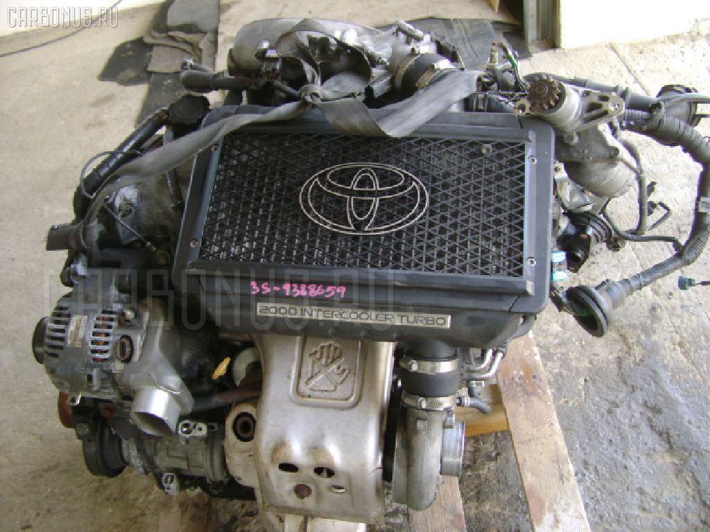 Двигатель TOYOTA CALDINA ST215 3S-GTE Фото 4