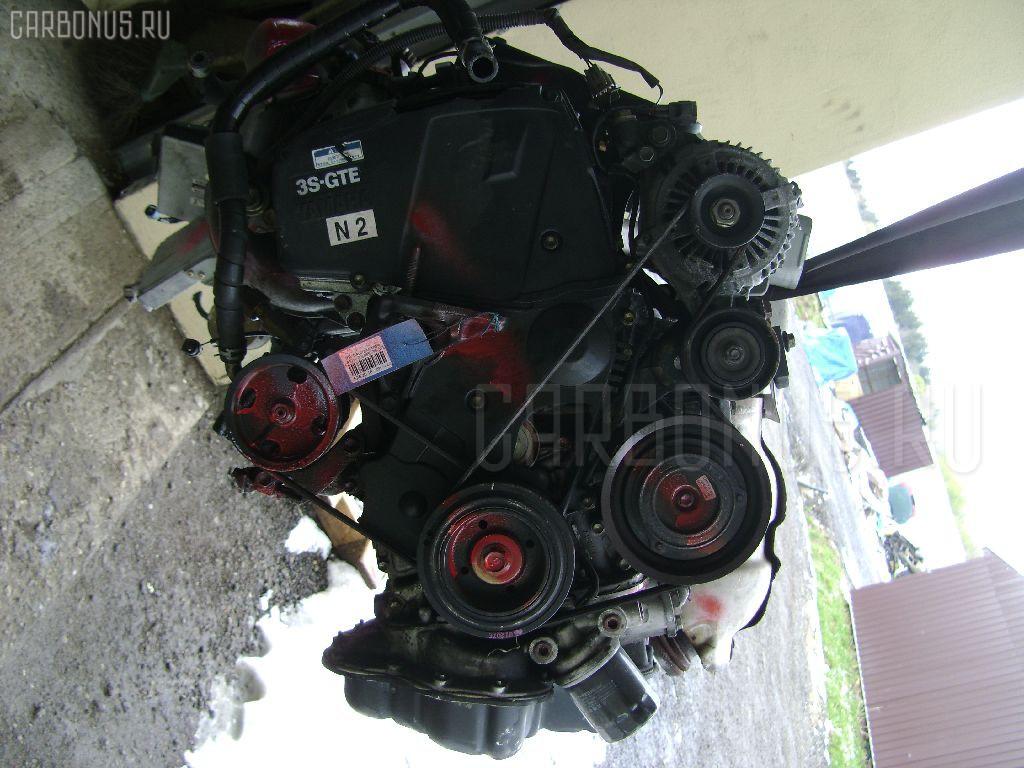 Двигатель Toyota Caldina ST215 3S-GTE Фото 1