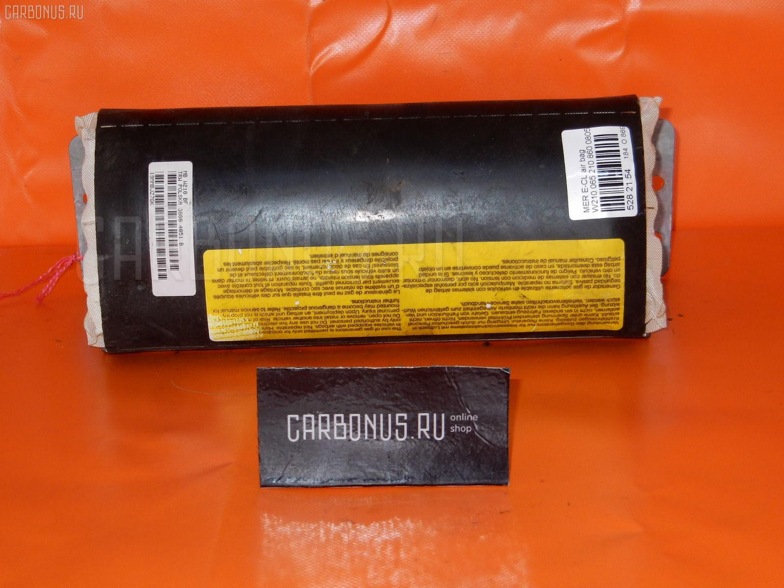 Air bag MERCEDES-BENZ E-CLASS W210.065 Фото 1