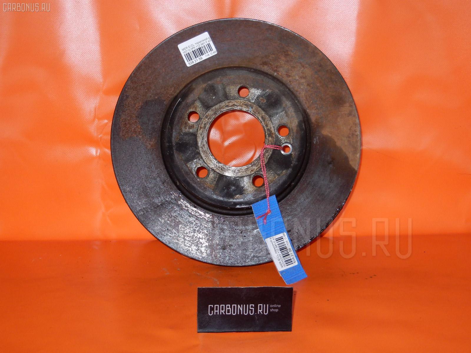 Тормозной диск MERCEDES-BENZ E-CLASS W210.065 112.941 Фото 1