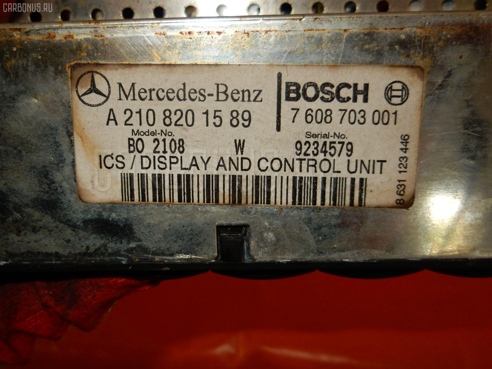 Блок управления климатконтроля MERCEDES-BENZ E-CLASS W210.065 112.941 Фото 5