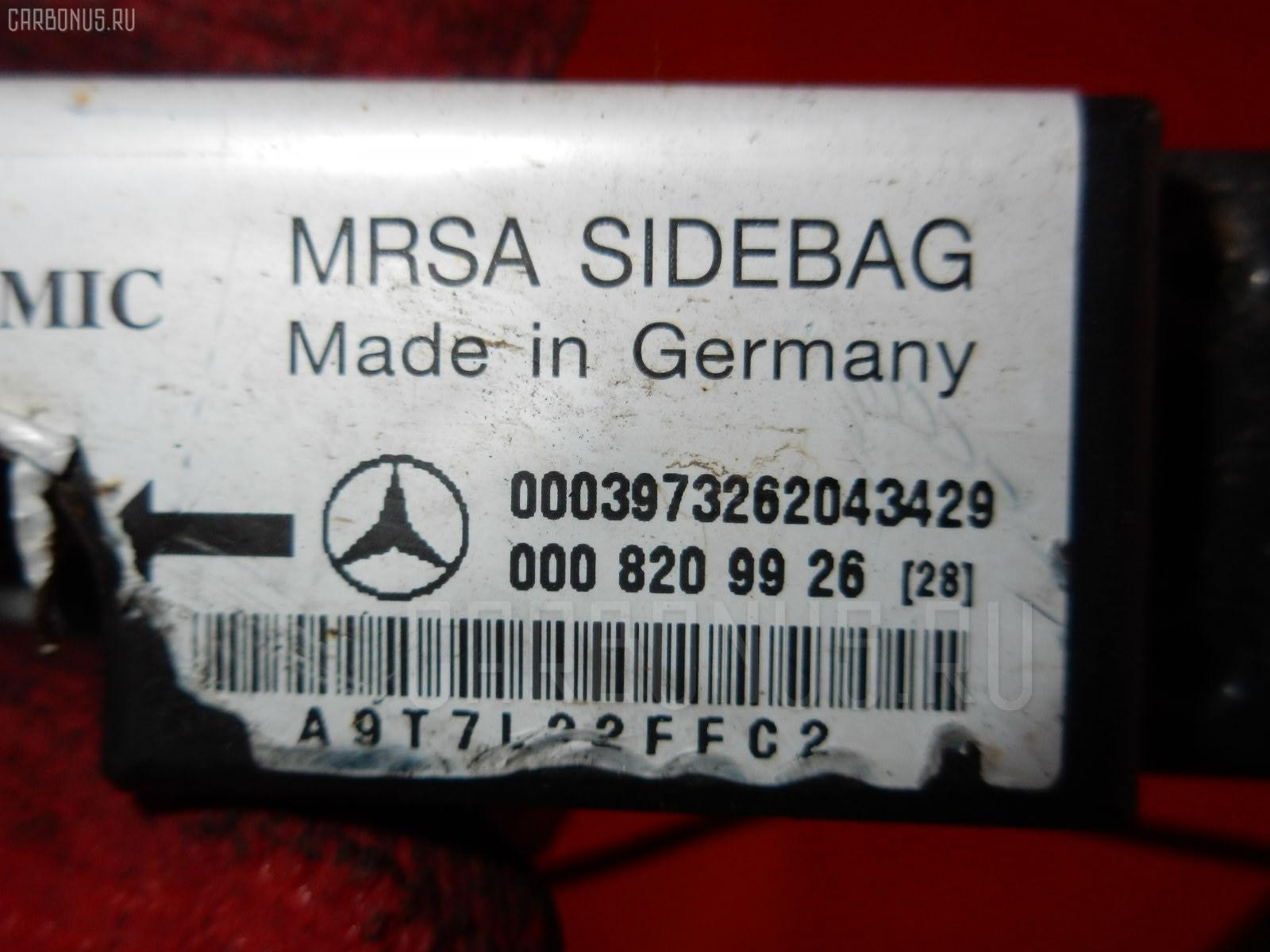 Блок управления air bag MERCEDES-BENZ E-CLASS W210.065 112.941 Фото 1