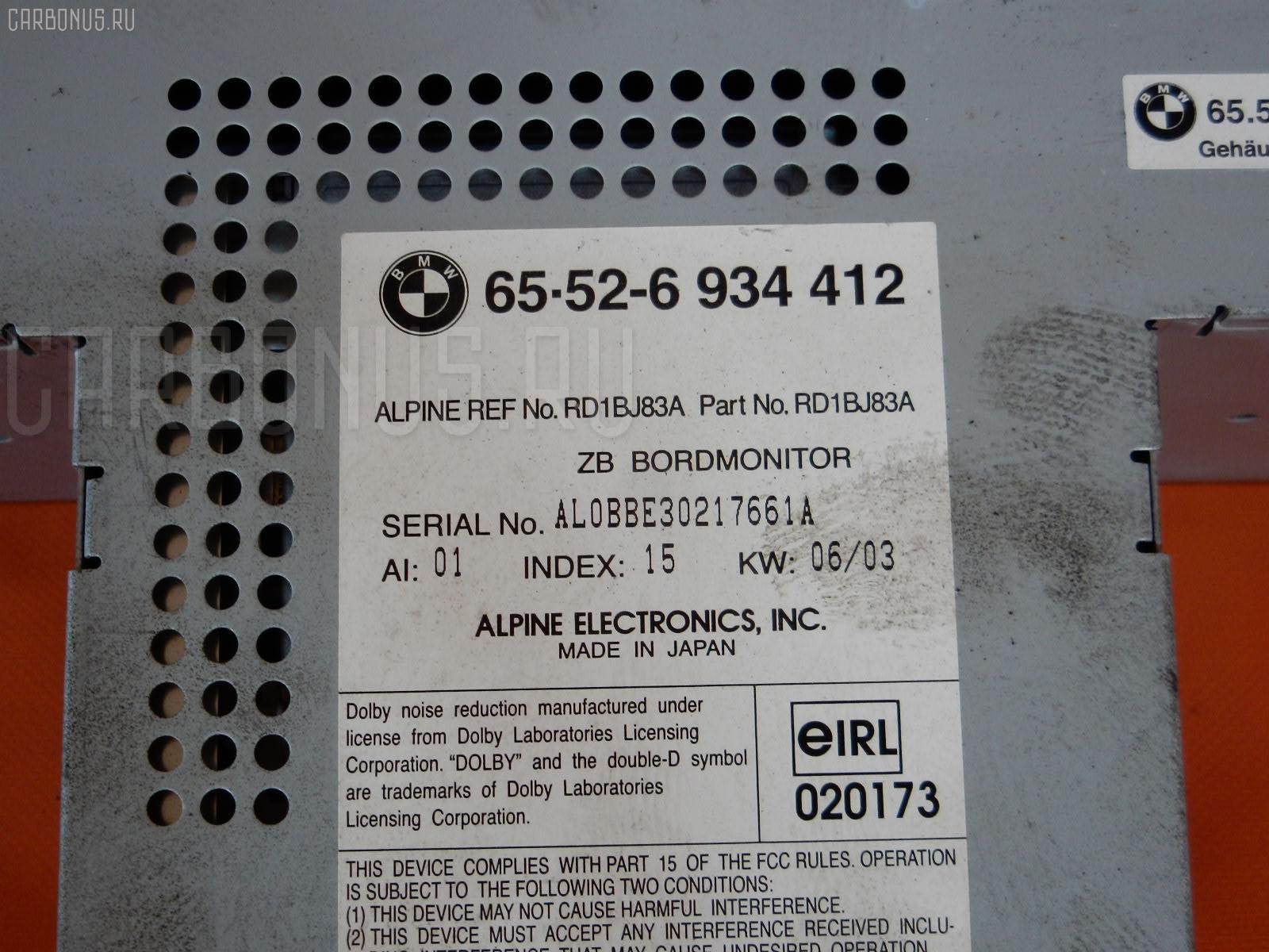 Дисплей информационный BMW 5-SERIES E39-DS42 Фото 4