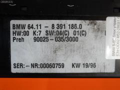 Блок управления климатконтроля Bmw 5-series E39-DD62 M52-286S1 Фото 2