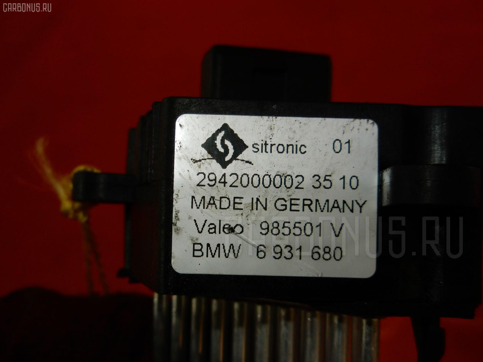 Регулятор скорости мотора отопителя BMW 5-SERIES E39-DD62 M52-286S1 Фото 4