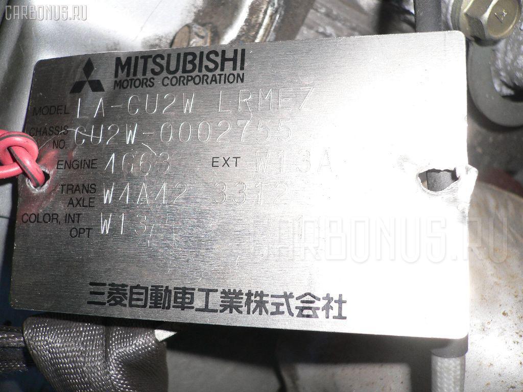 Двигатель MITSUBISHI AIRTREK CU2W 4G63. Фото 8