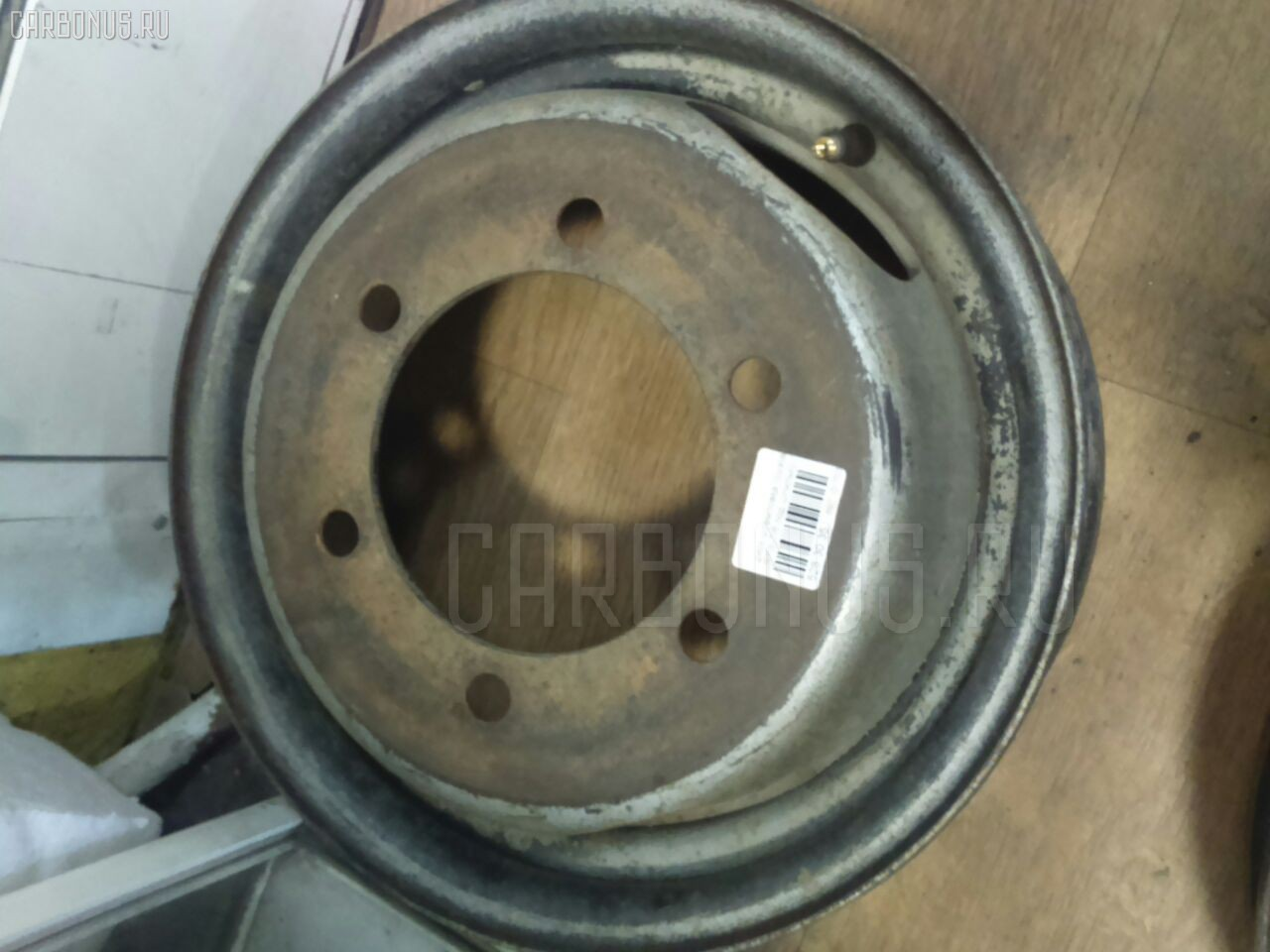 Диск штамповка грузовой R13LT / 6 Фото 1