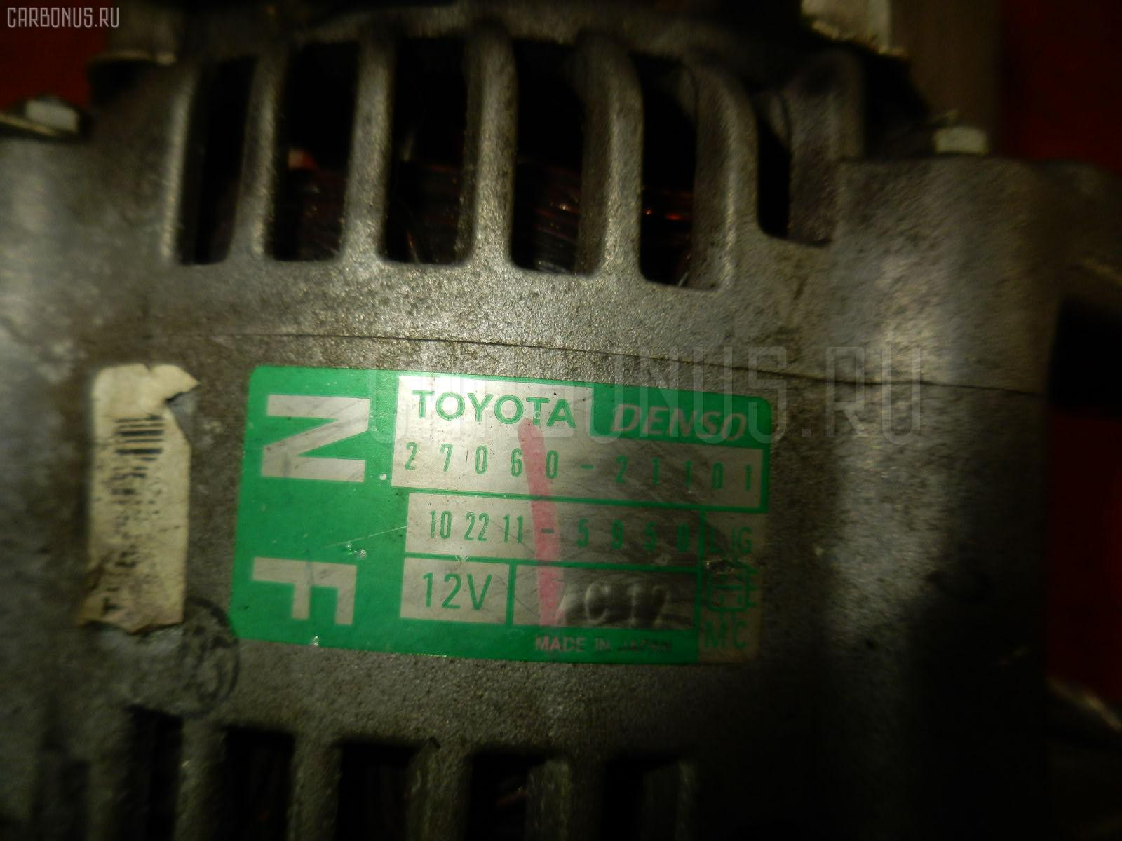 Генератор TOYOTA IST NCP60 2NZ-FE. Фото 6