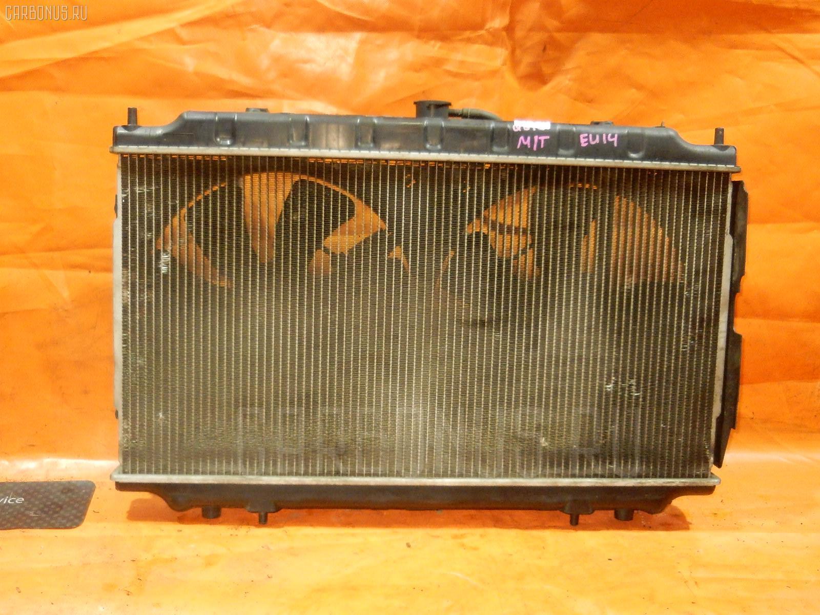 Радиатор ДВС NISSAN BLUEBIRD EU14 SR18DE. Фото 7