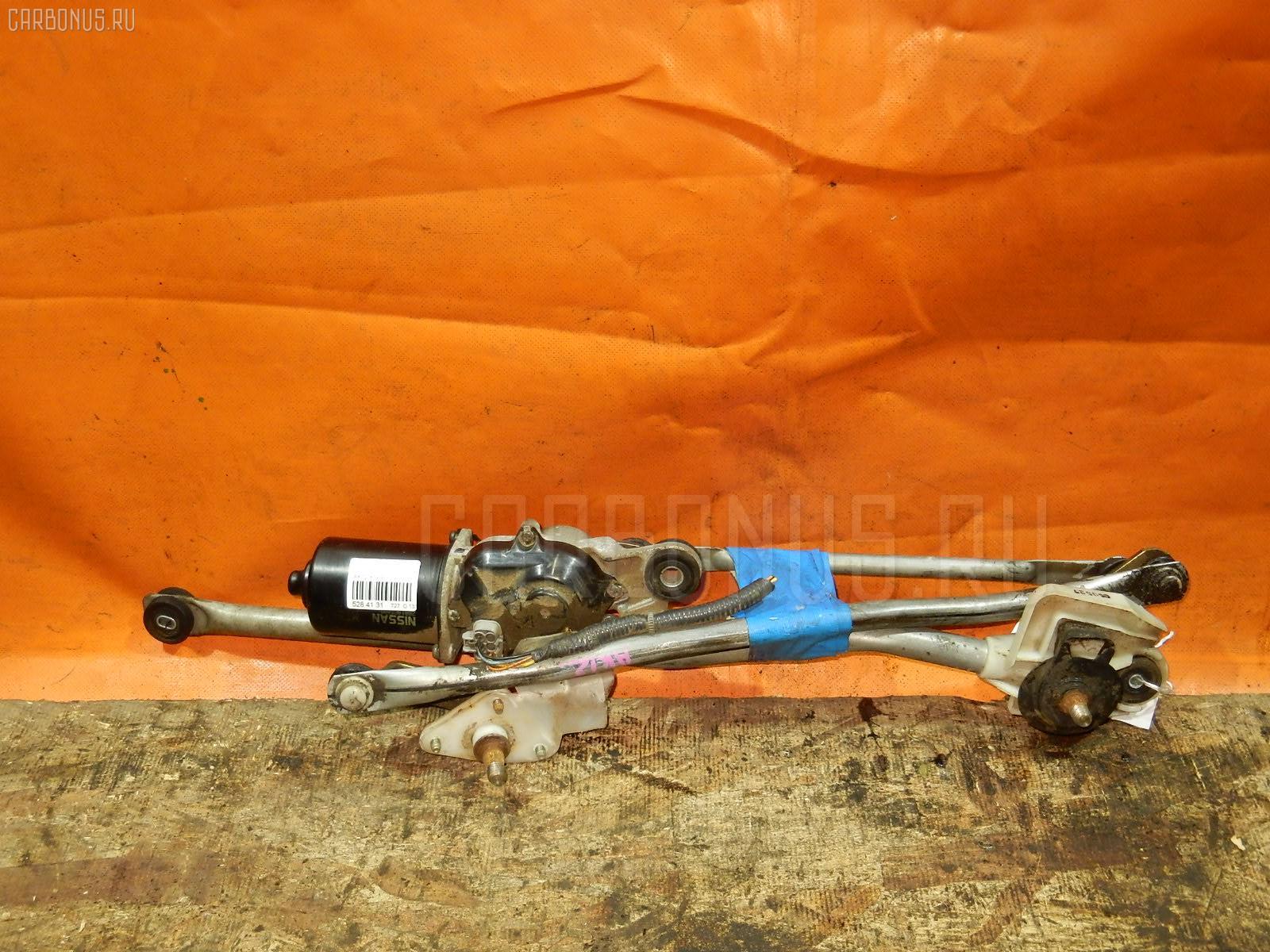 Мотор привода дворников NISSAN MARCH AK12. Фото 7