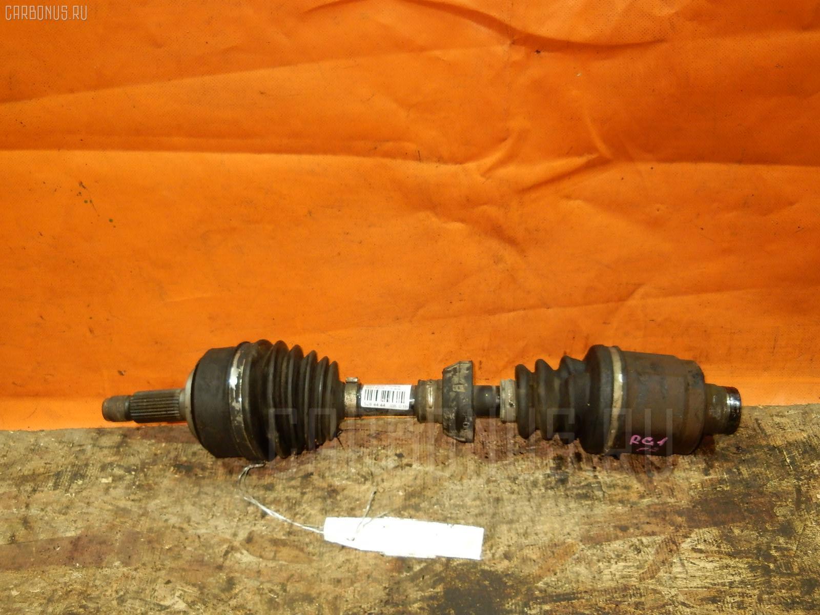 Привод HONDA STEPWGN RG1 K20A Фото 1