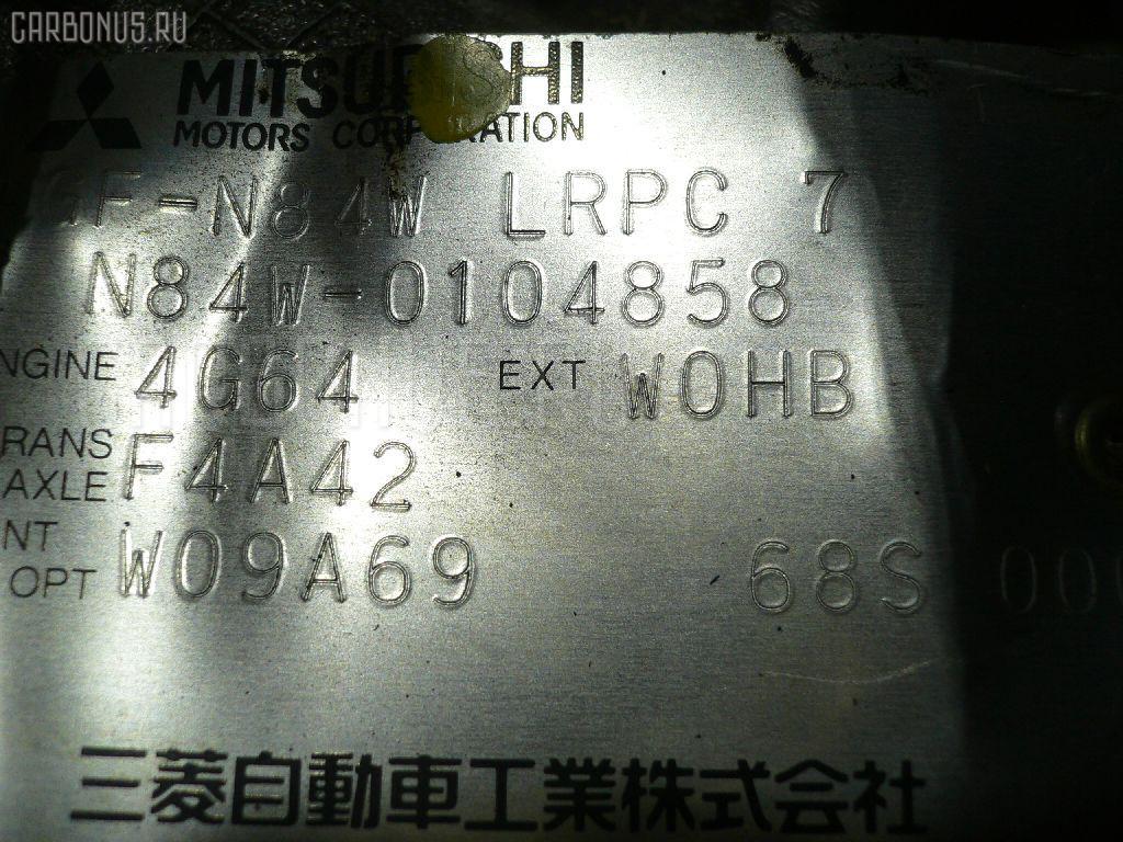 Двигатель MITSUBISHI CHARIOT GRANDIS N84W 4G64 Фото 1