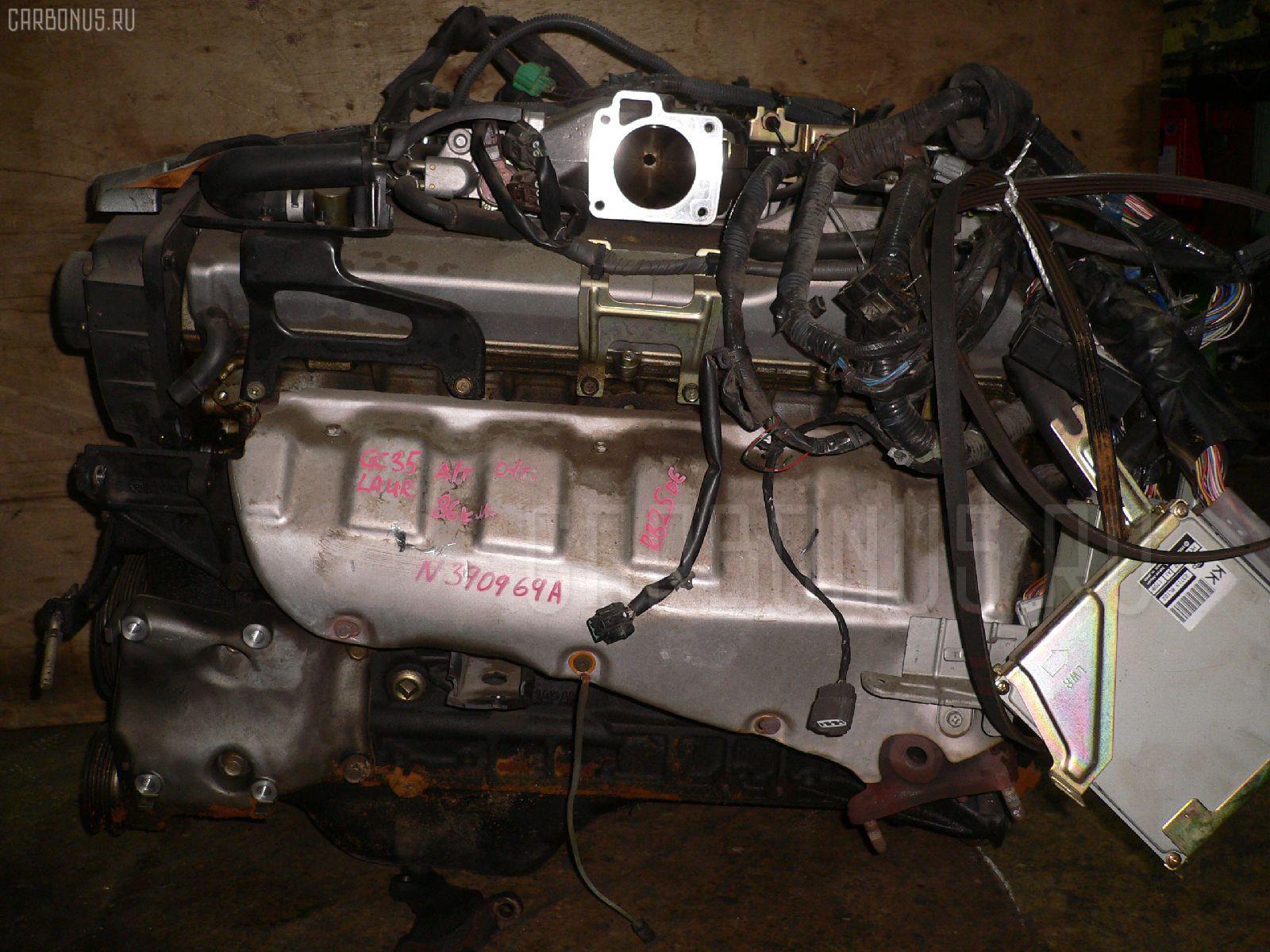 Двигатель NISSAN LAUREL GC35 RB25DE. Фото 2